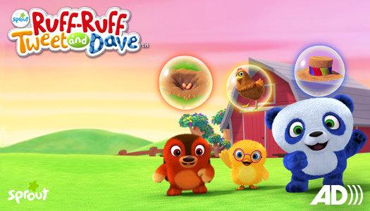 Ruff-Ruff, Tweet and Dave on NBC
