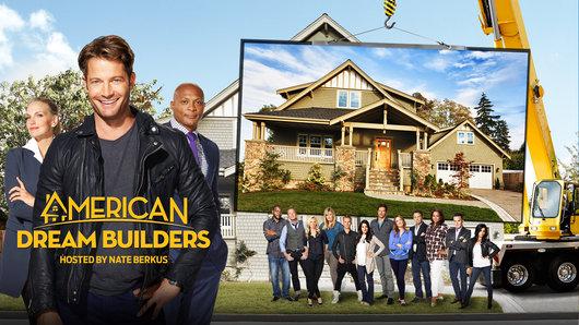 American Dream Builders - Nate Berkus, Eddie George, Monica Pedersen and the contestants