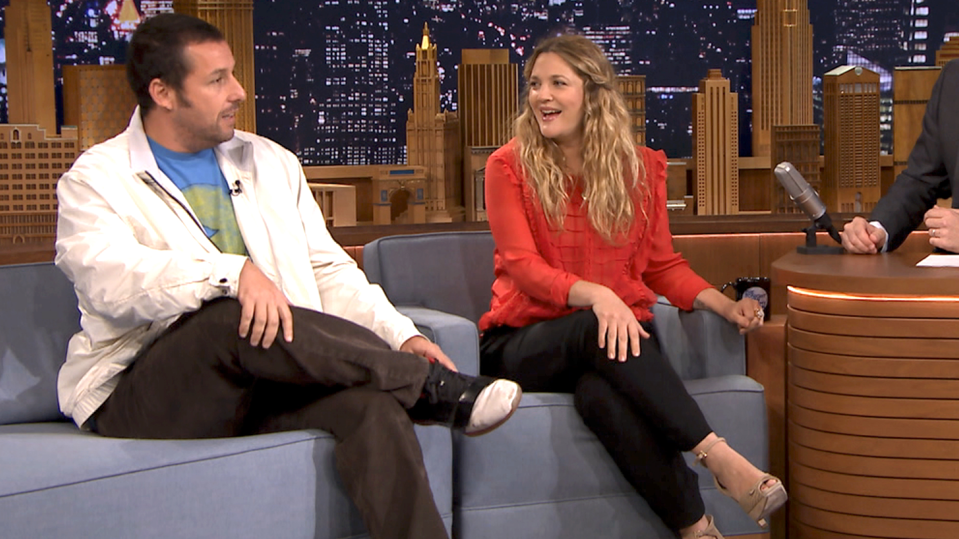 Drew Barrymore Gets a Surprise Call from Adam Sandler ...