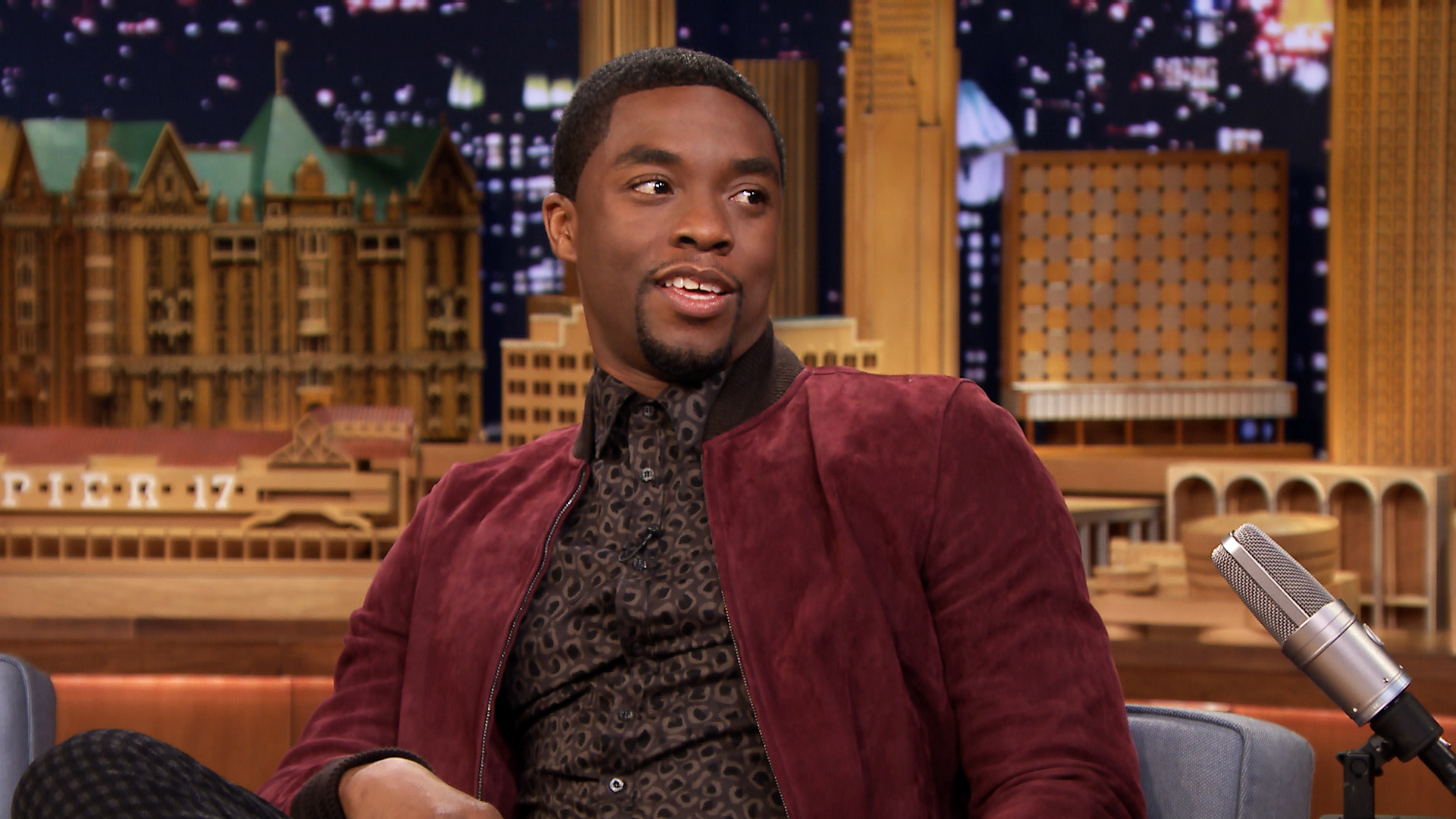 Chadwick Boseman Chadwick Boseman is a James