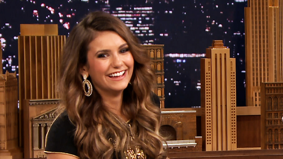 Jimmy fallon show nina dobrev dating 2