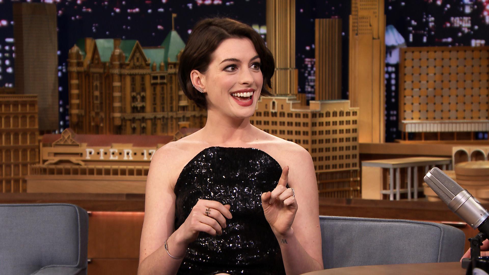 Anne Hathaway Ranks He...