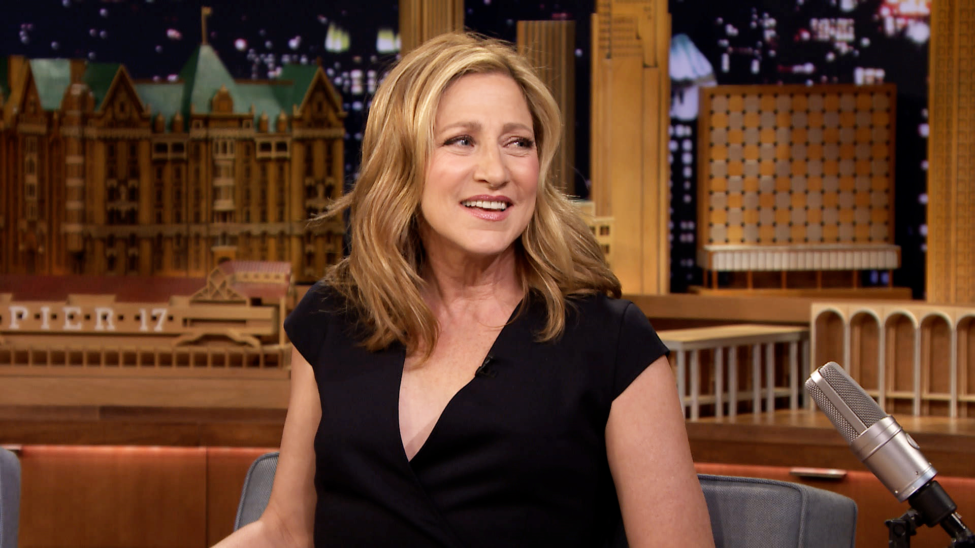 edie falco young