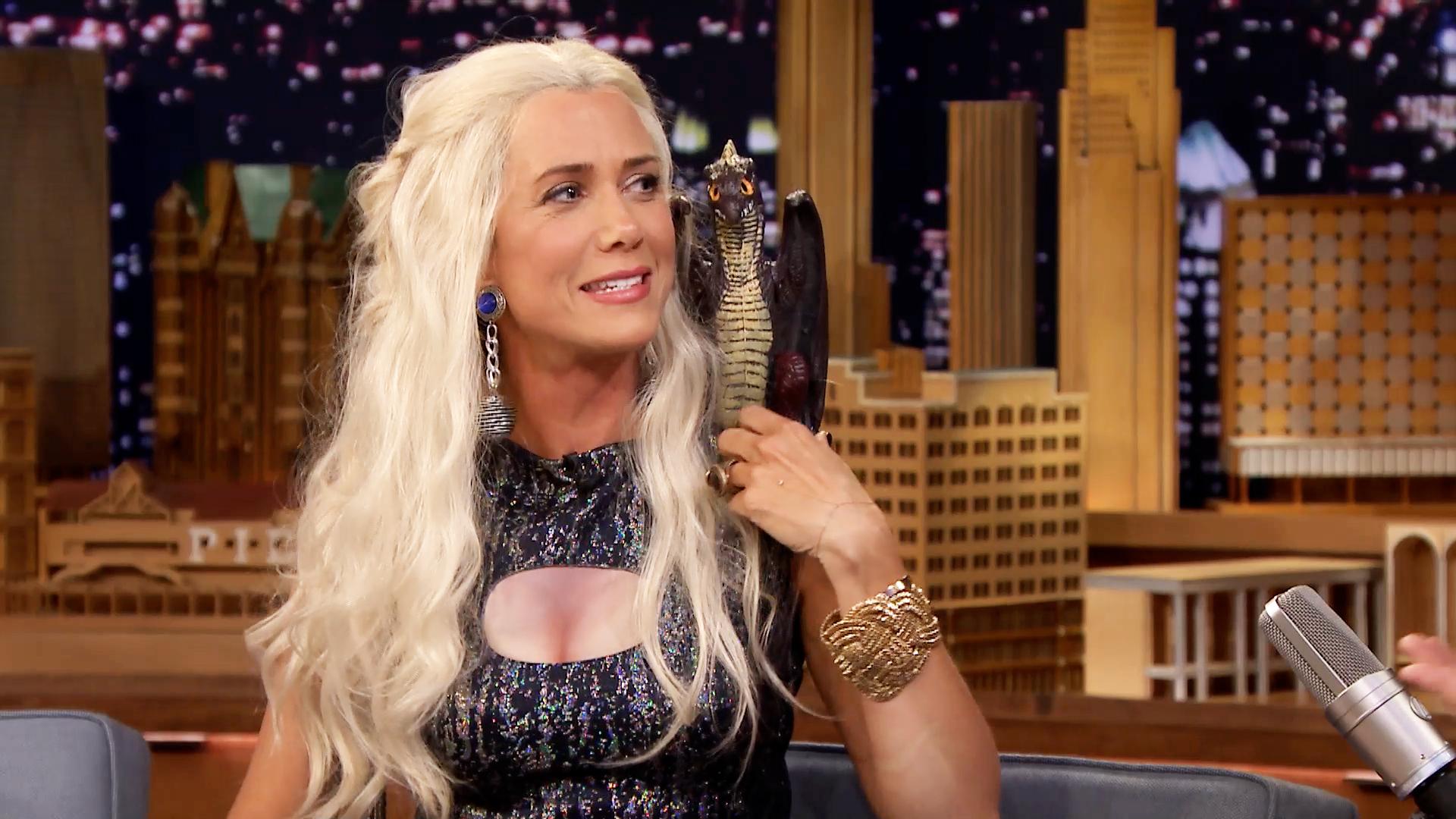 Jimmy Interviews Khaleesi from Game of Thrones (Kristen ...: https://www.nbc.com/the-tonight-show/video/jimmy-interviews-khaleesi-from-game-of-thrones-kristen-wiig/2862814