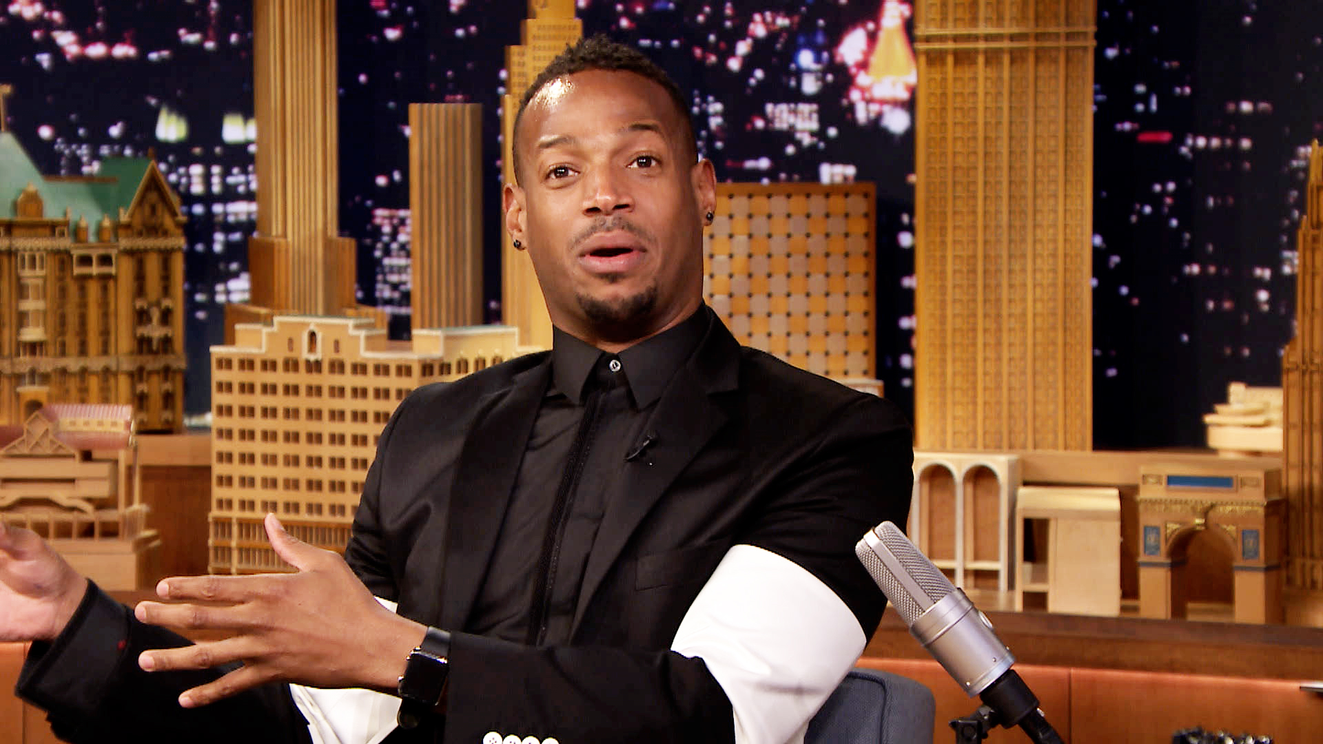 Marlon Wayans And Son Marlon Wayans Is Happy To Be On Nbc