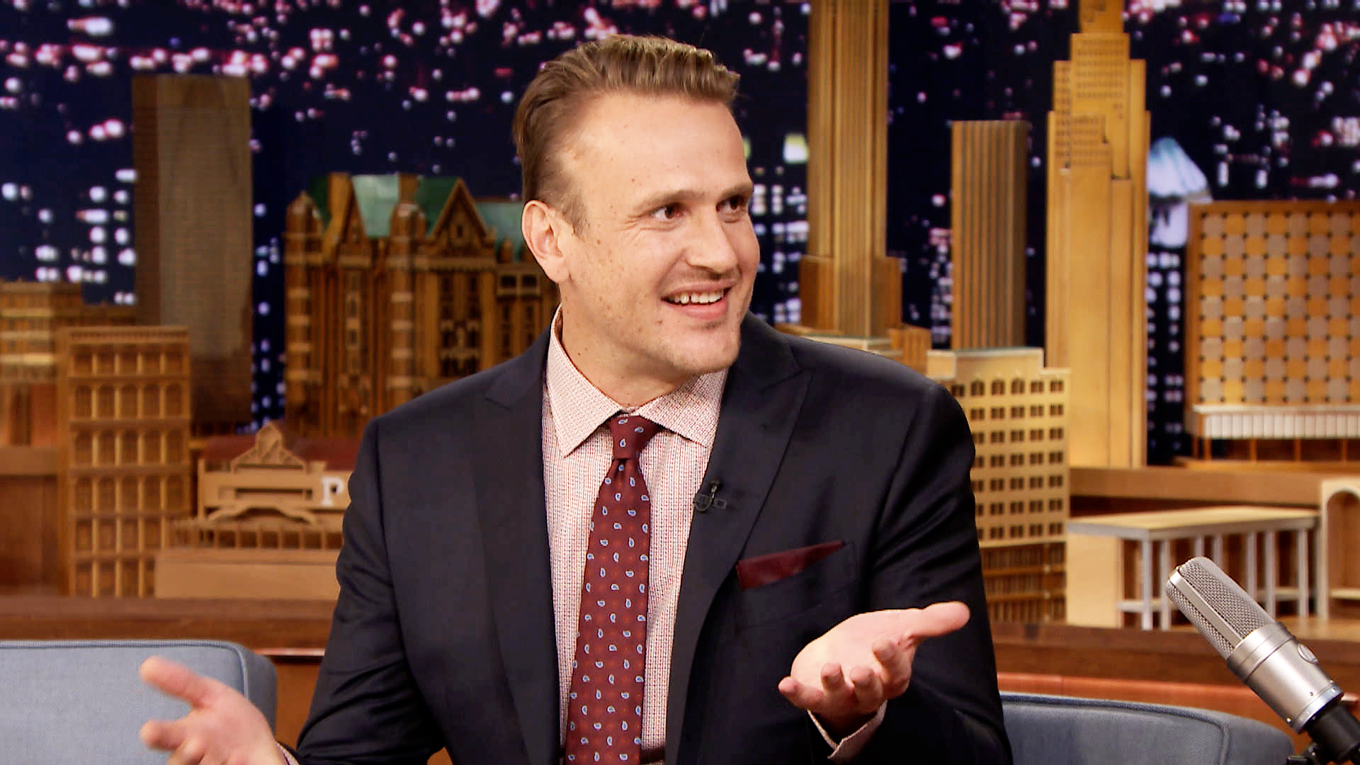 Jason Segel Hit Himself With His Own Car The Tonight Show