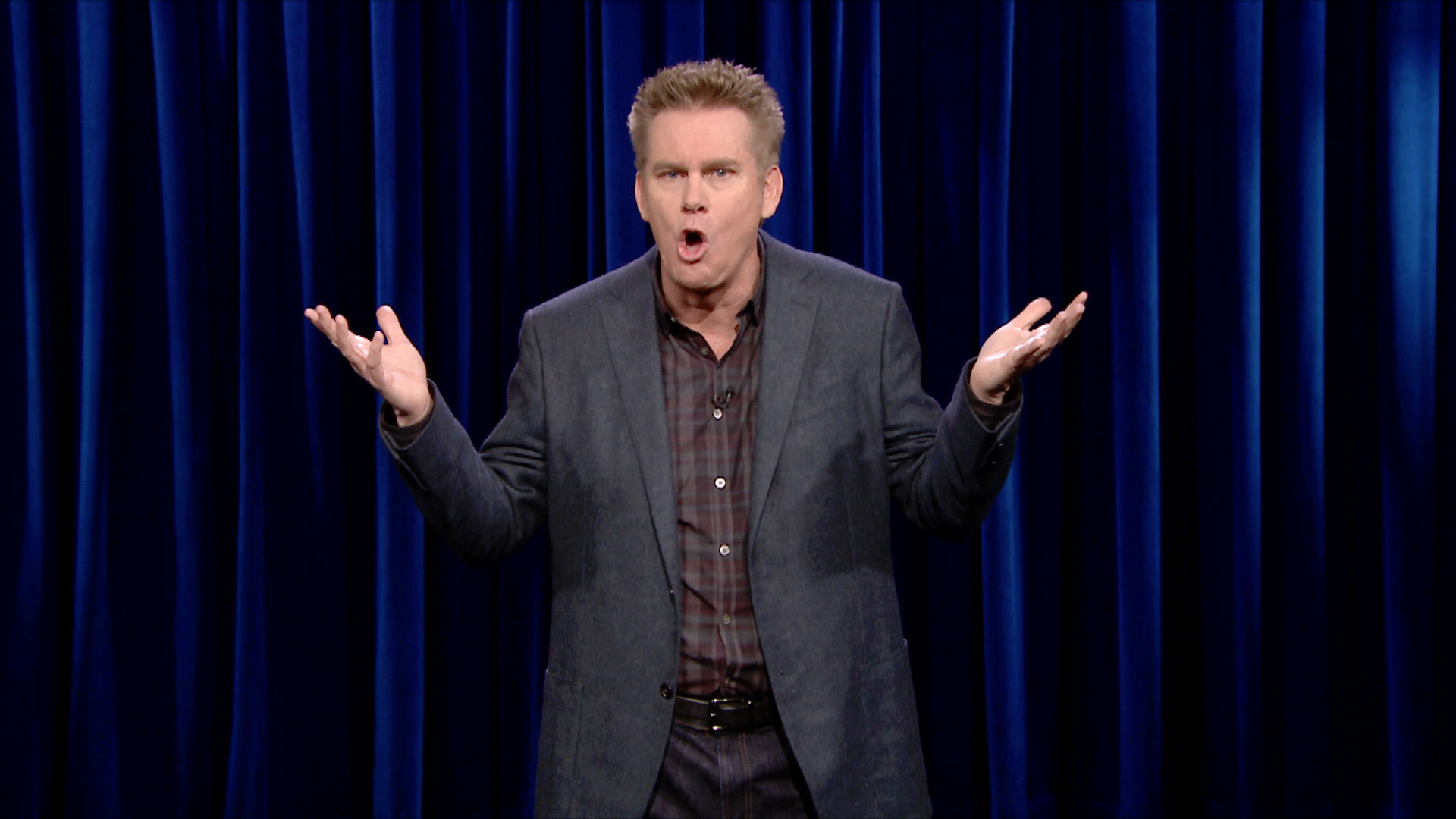 brian regan i'm the map