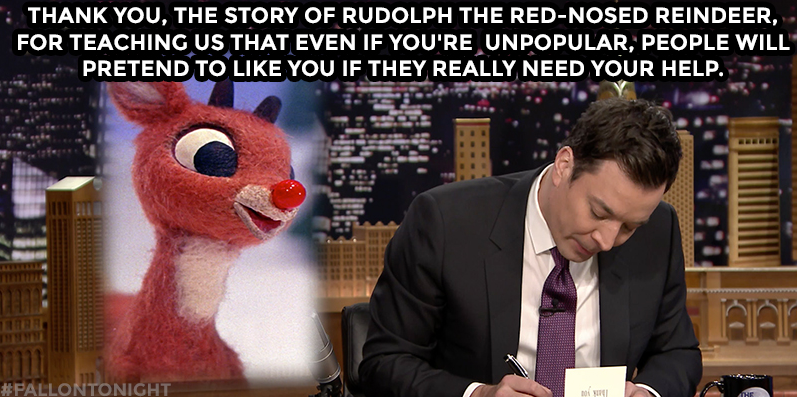 Holiday Thank You Notes! - The Tonight Show