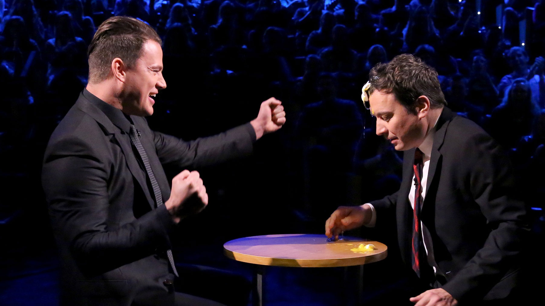Egg Russian Roulette with Channing Tatum - The Tonight Show Channing Tatum