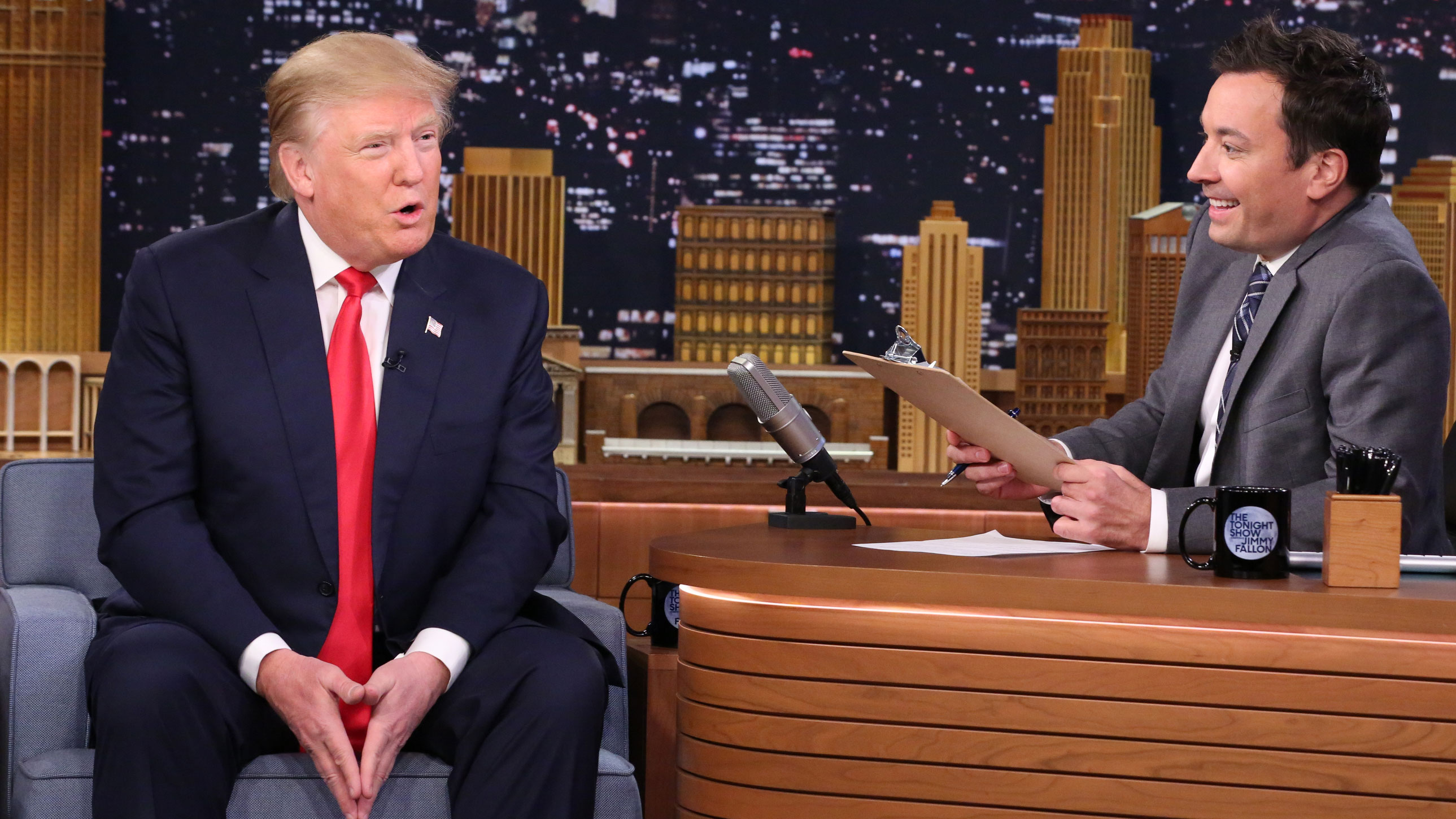 Mock Job Interview For President With Donald Trump The