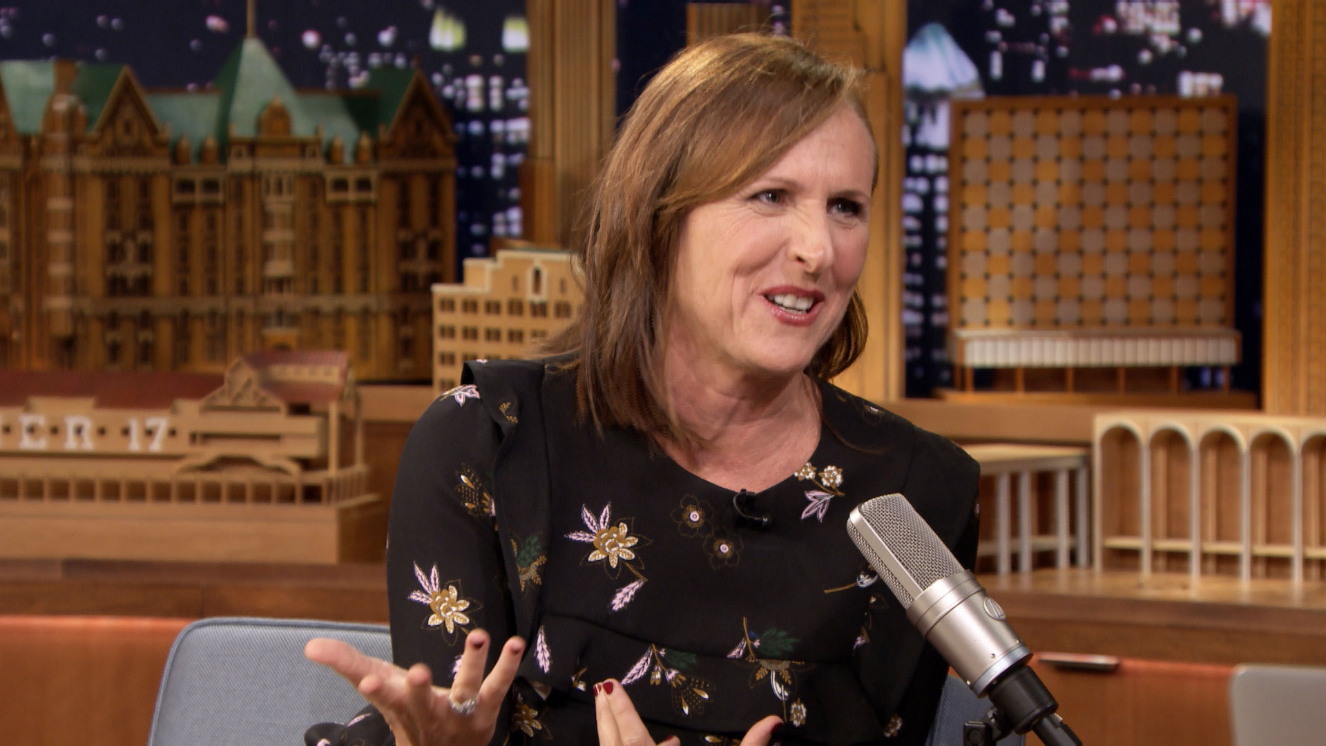 Molly Shannon Invented Bed Seven For Stress Relief The