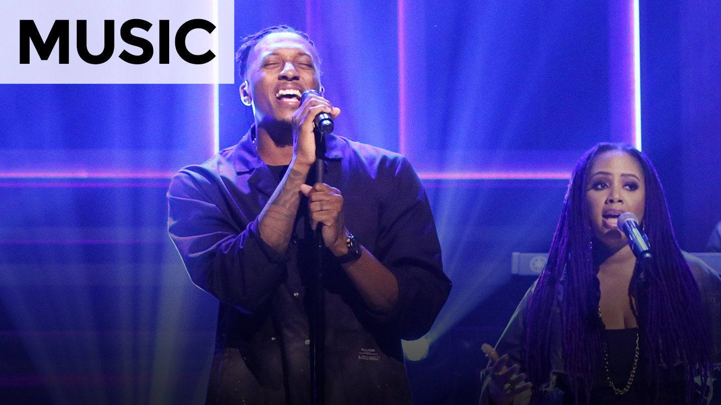 Image result for lecrae lalah hathaway jimmy fallon