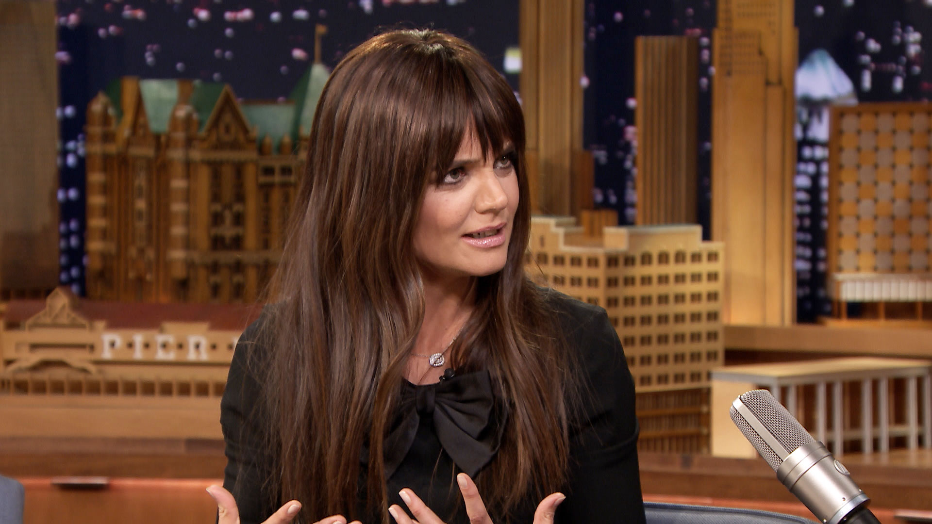 Katie Holmes' All We Had Was a Well-Fed Set - The Tonight Show Katie Holmes