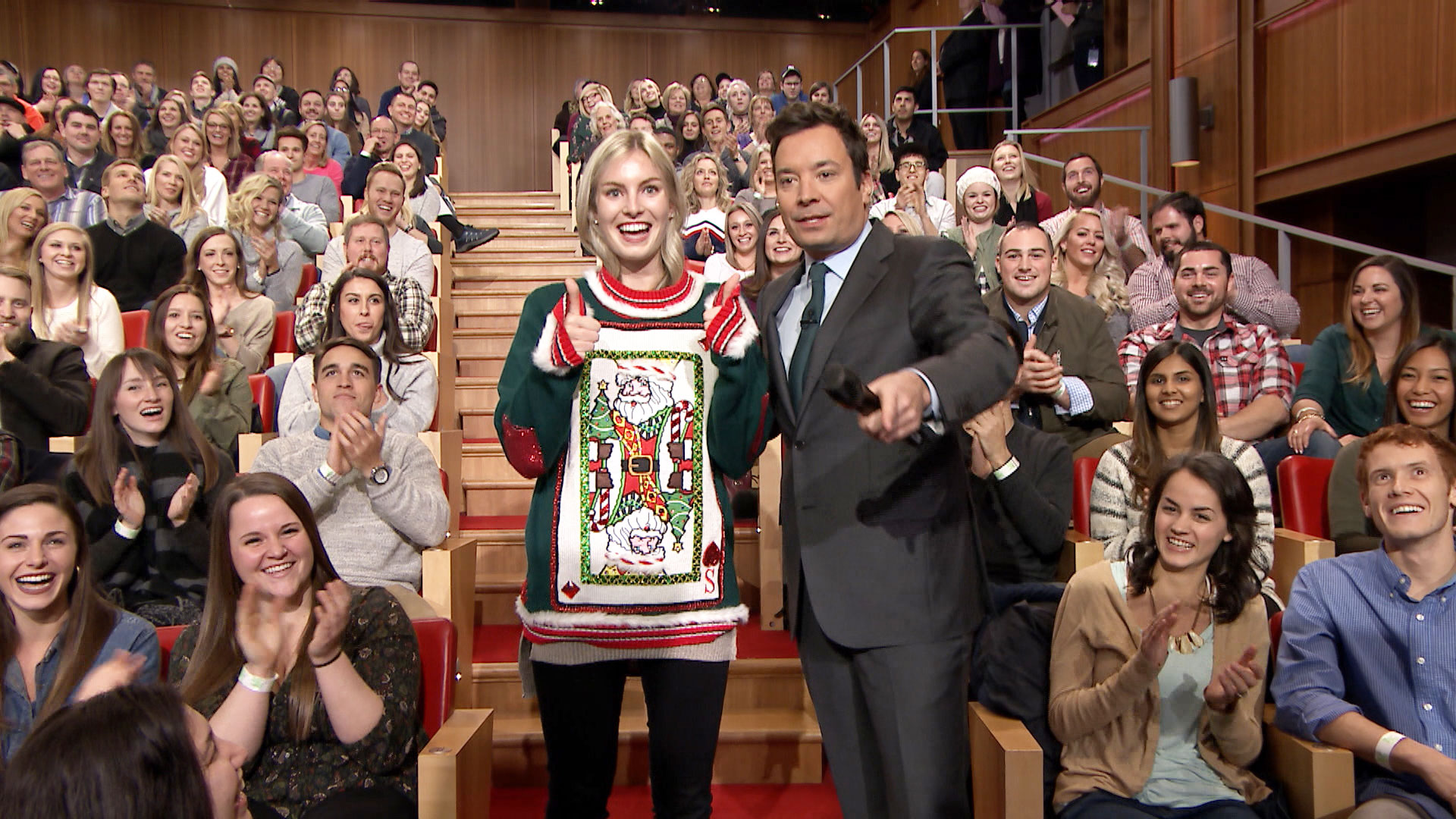 12 Days of Christmas Sweaters 2016: Day 1 - The Tonight Show