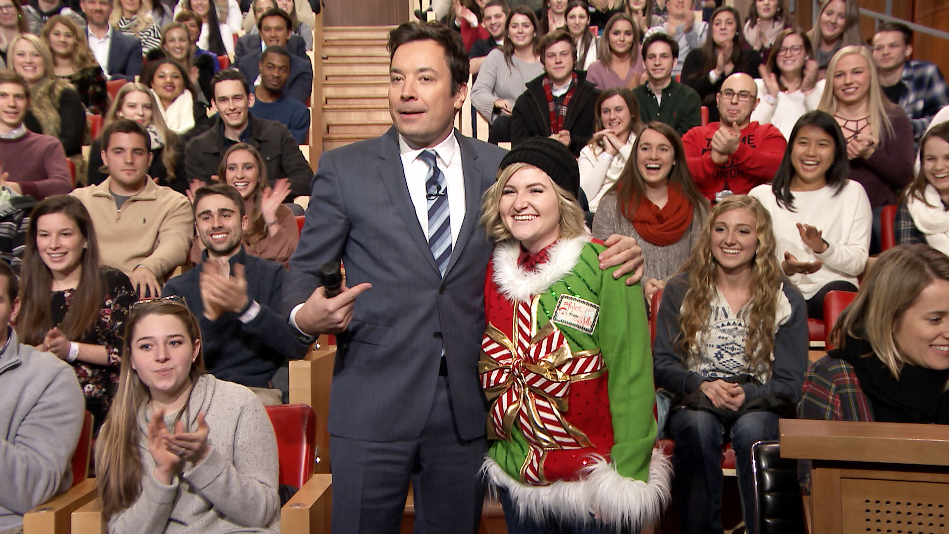 12 Days of Christmas Sweaters 2016: Day 8 - The Tonight Show