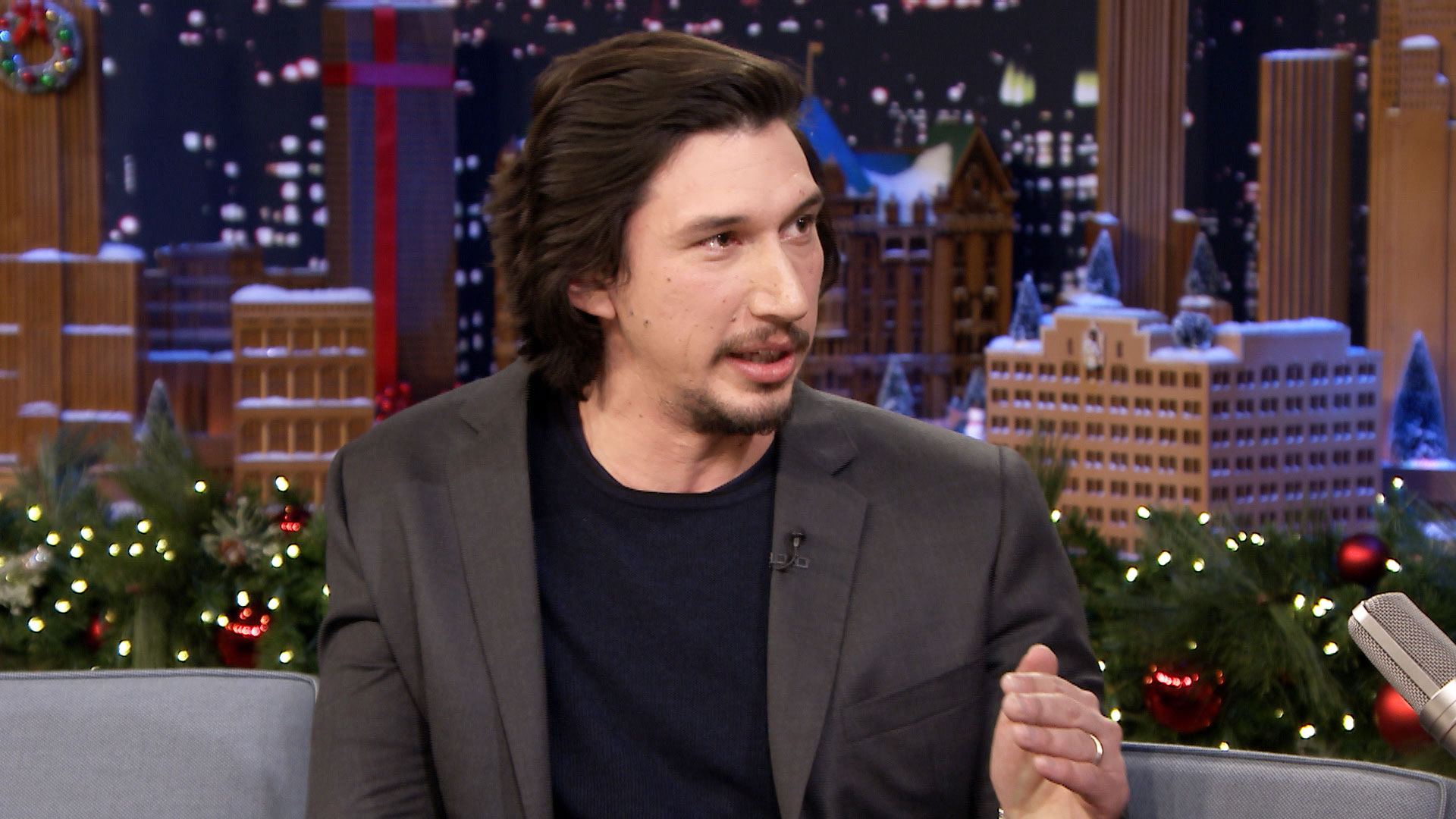 Adam Driver Is a Bus-D...
