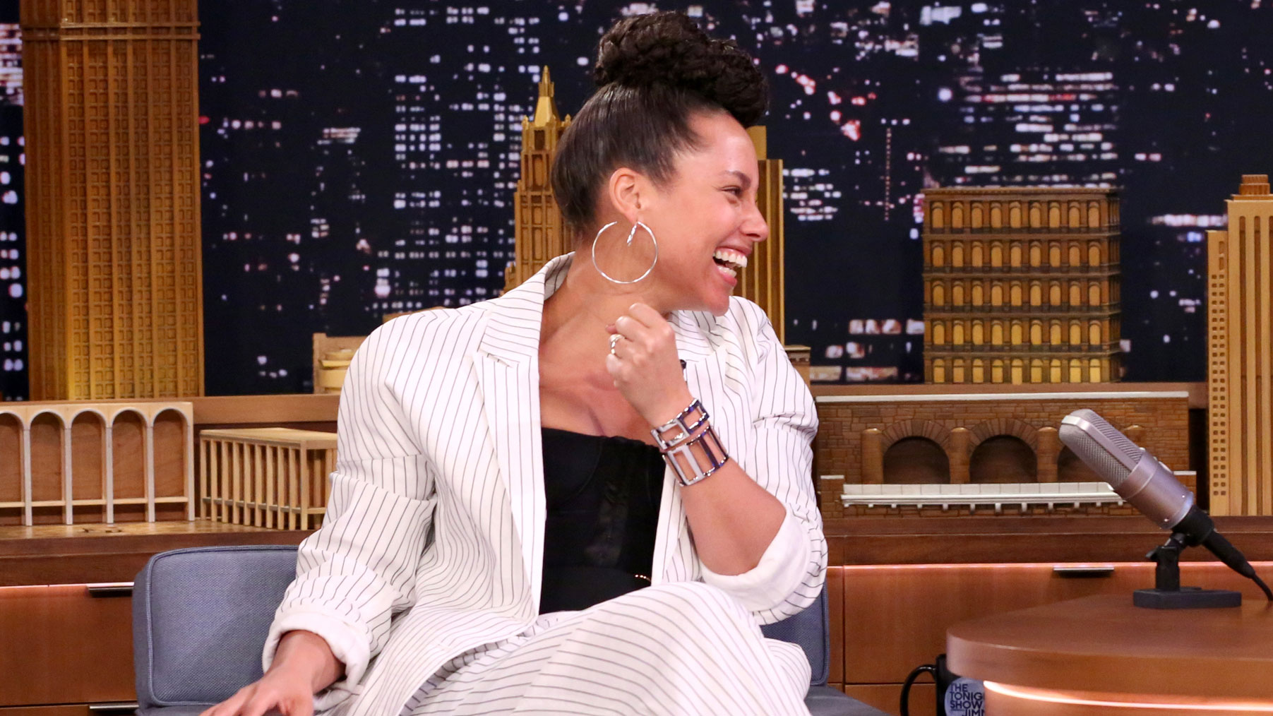 Alicia Keys' Son Produces Beats for Kendrick Lamar - The Tonight Show Nbc