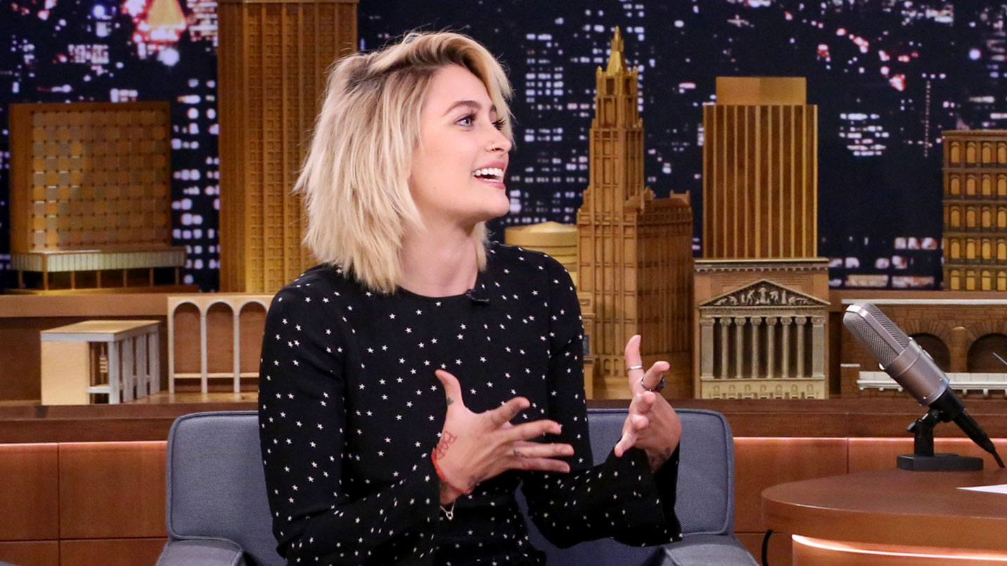 Paris Jackson Wrote a Love Song to Wendy's - The Tonight Show