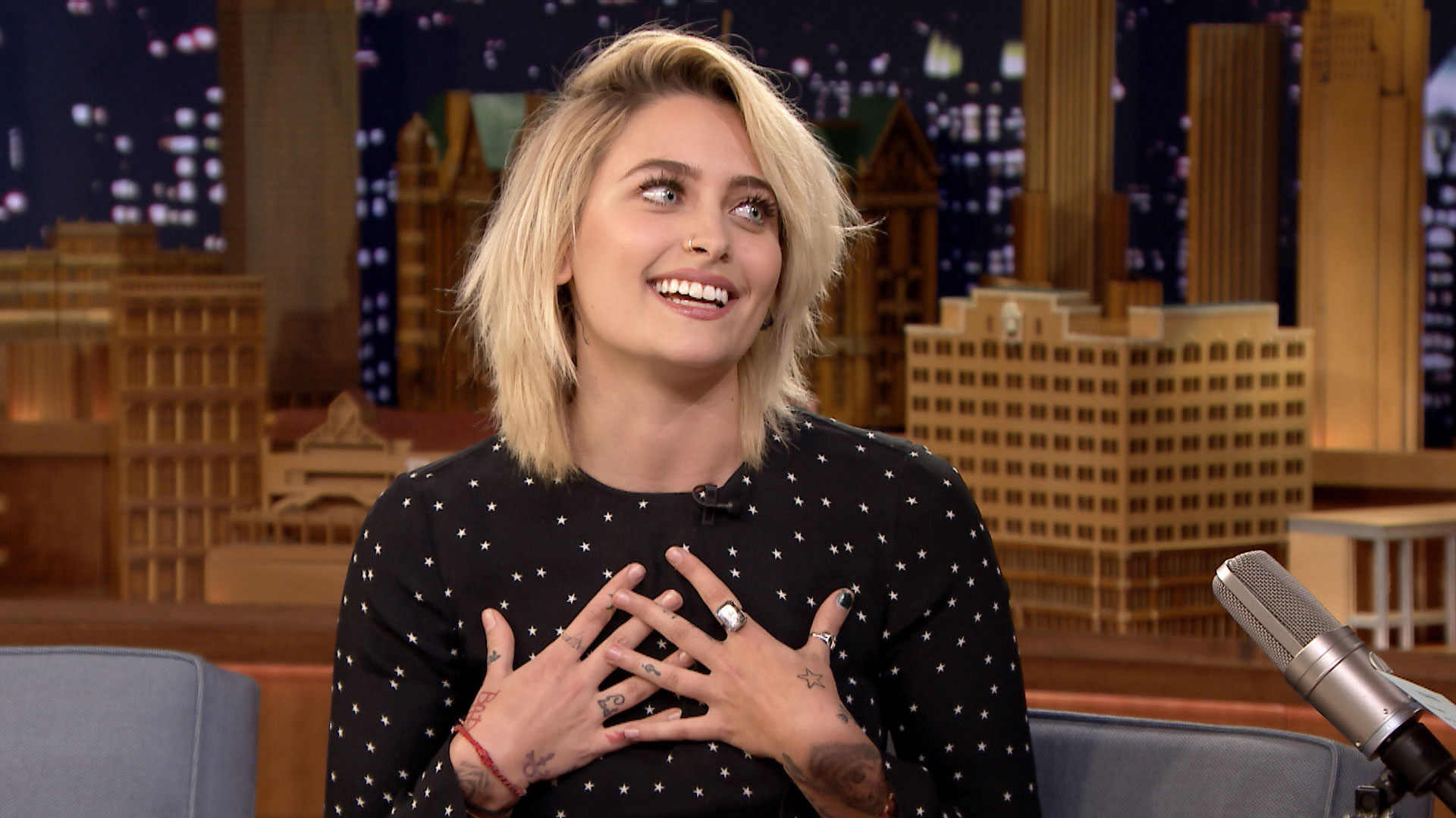 Paris Jackson Got Starstruck When She Met Fave Alice Cooper - The ...