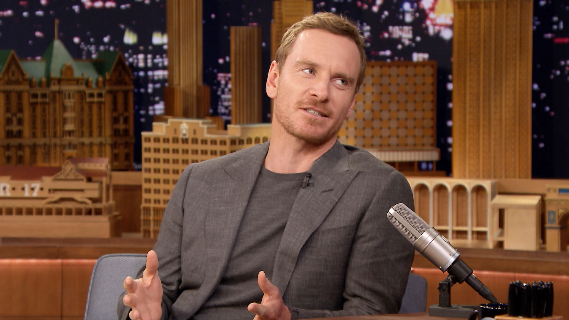 Michael Fassbender Celebrated His 40th Birthday with Spring Break ... Michael Fassbender