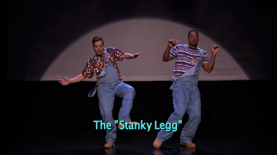 """""""Evolution of Hip-Hop Dancing"""" (w/ Jimmy Fallon & Will Smith)"""