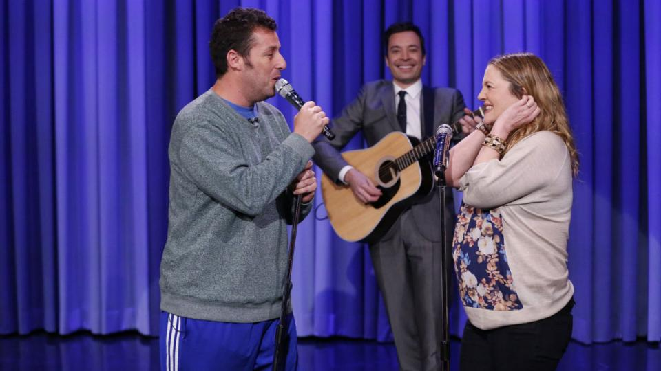 """Adam Sandler and Drew Barrymore: The """"Every 10 Years"""" Song"""