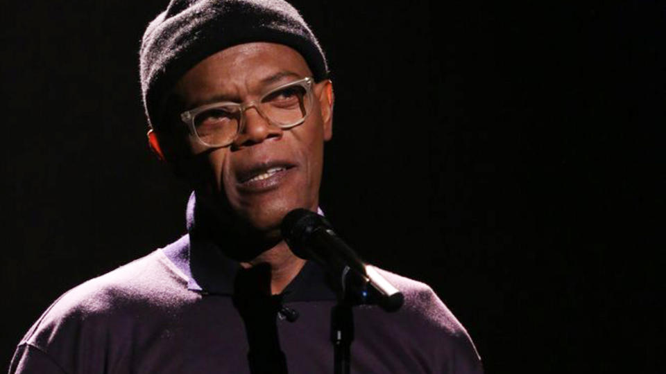 Samuel L. Jackson Performs Slam Poem About Boy Meets World