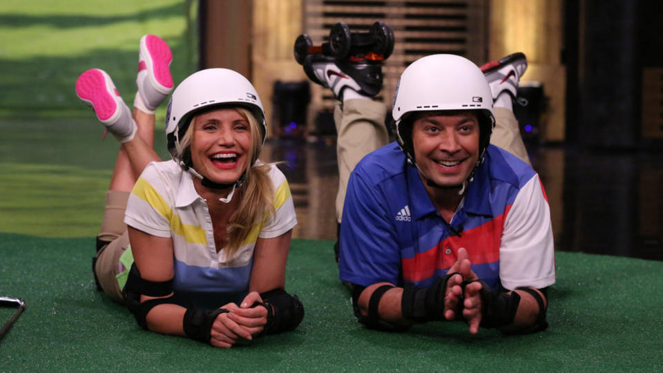 Roller Golf with Cameron Diaz