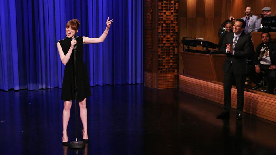 Lip Sync Battle with Emma Stone