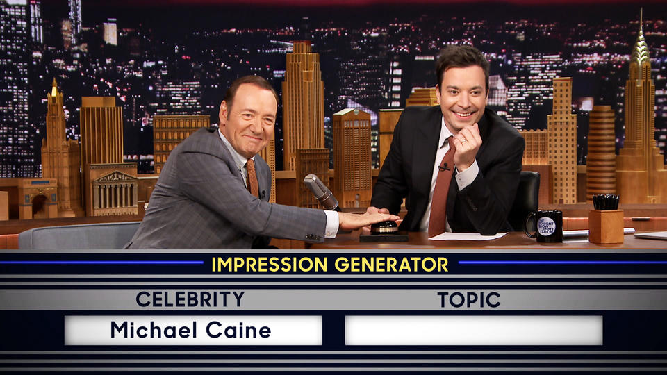 Wheel of Impressions with Kevin Spacey