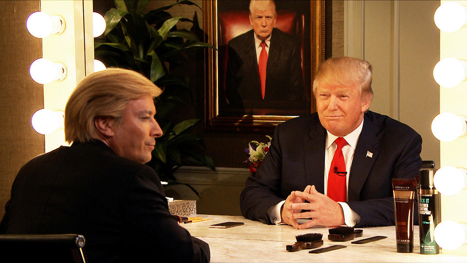 Donald Trump Interviews Himself in the Mirror