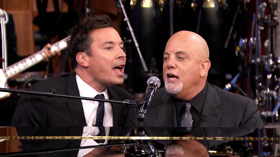 """Jimmy Fallon & Billy Joel Sing """"Beast of Burden"""""""