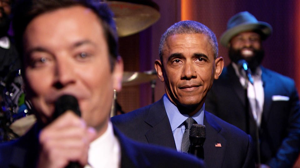 """Slow Jam the News"" with President Obama"