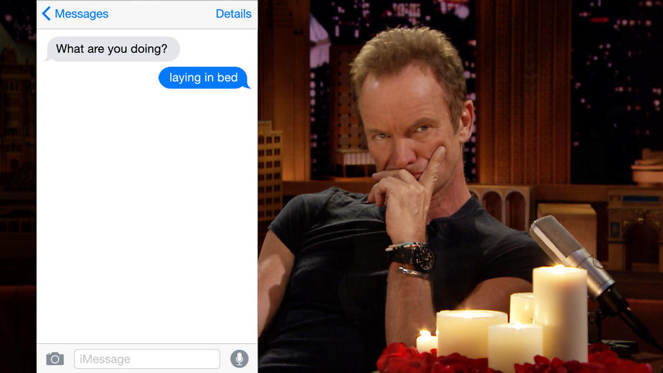 First Textual Experience with Sting