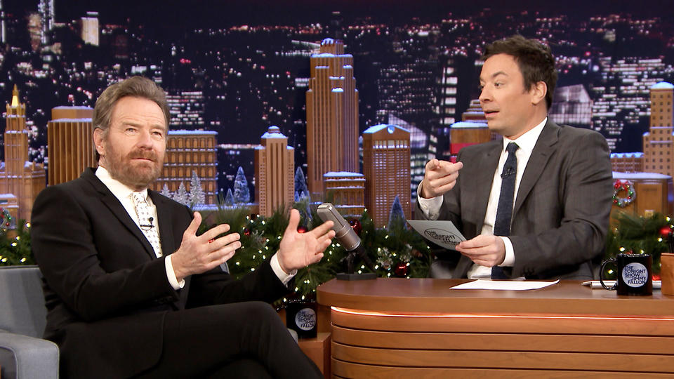 Bryan Cranston Plays Cranst-In or Cranst-Out (Holiday Edition)