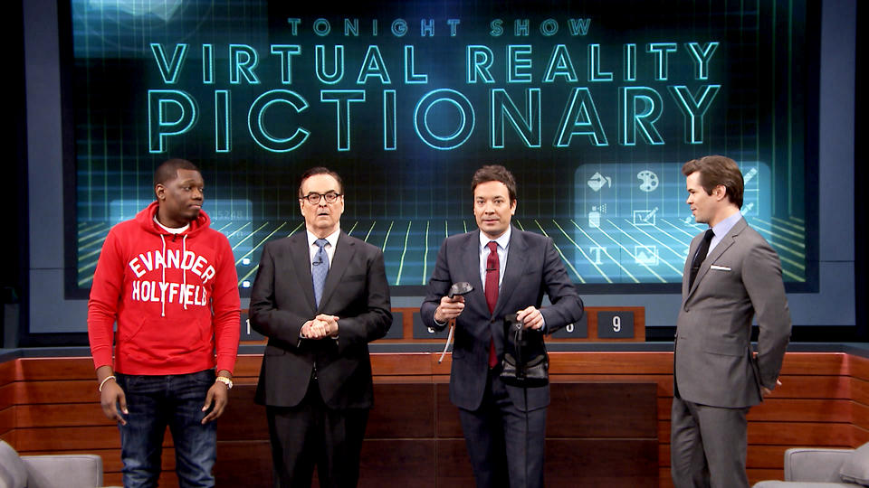 Virtual Reality Pictionary with Andrew Rannells and Michael Che