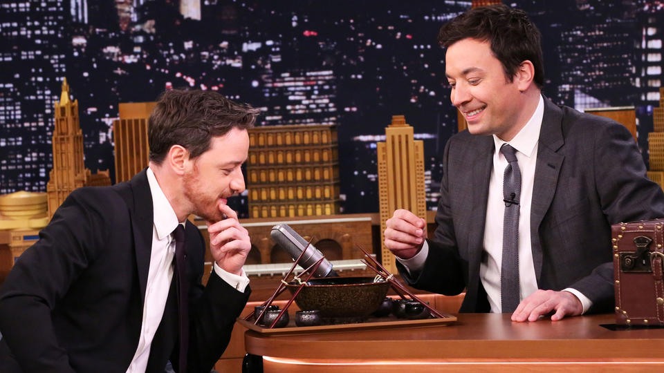 Ramen Challenge with James McAvoy