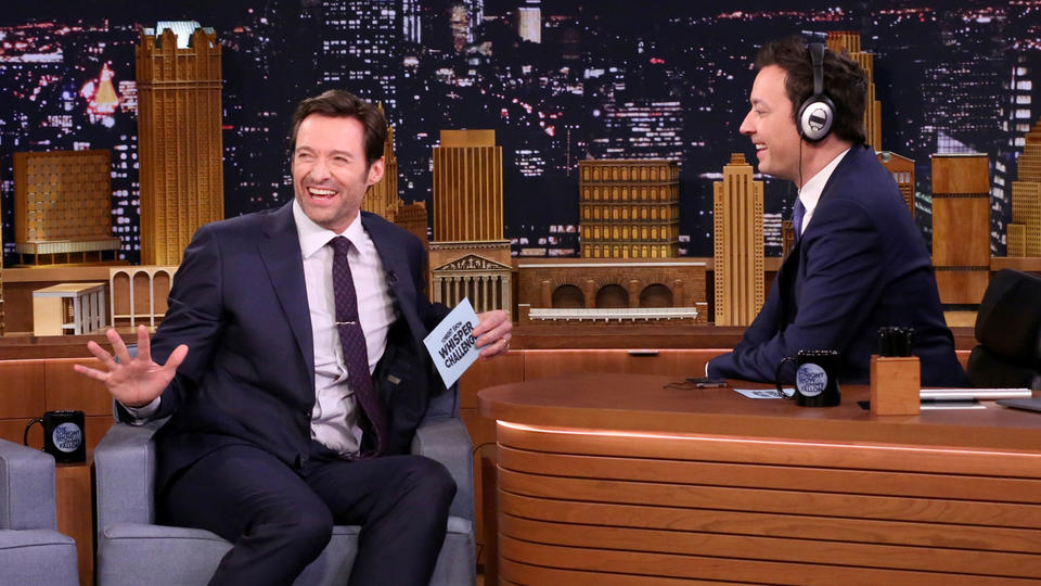 "Hugh Jackman Breaks His ""Wolverine Fast"" after Whisper Challenge"