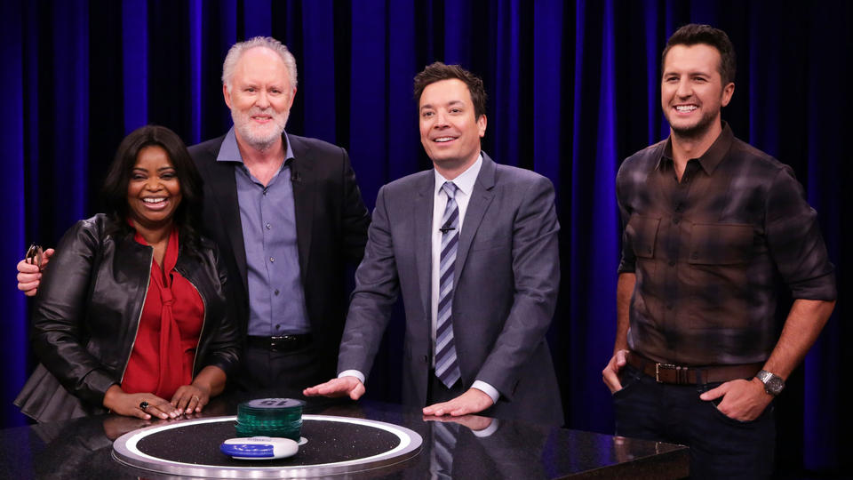 Catchphrase with Octavia Spencer, John Lithgow and Luke Bryan