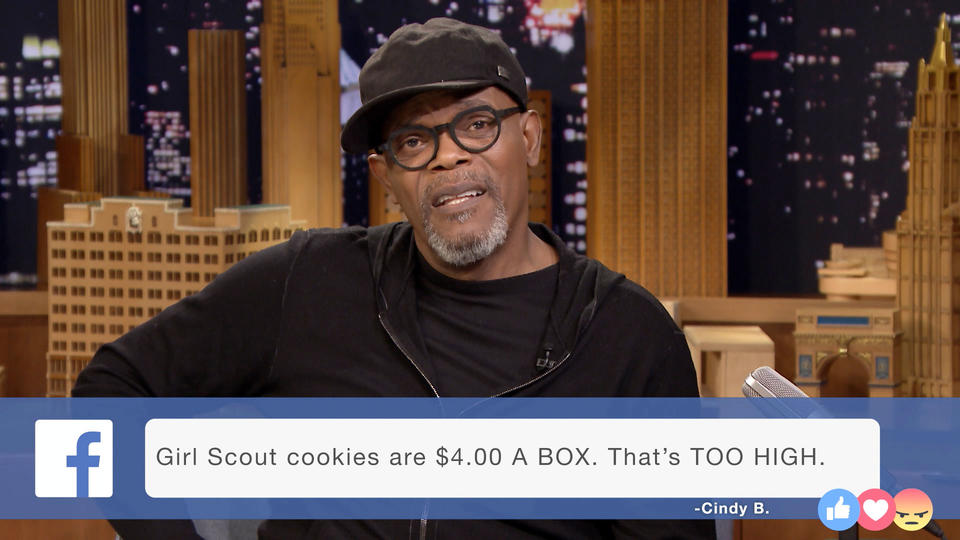 Facebook Rants with Samuel L. Jackson