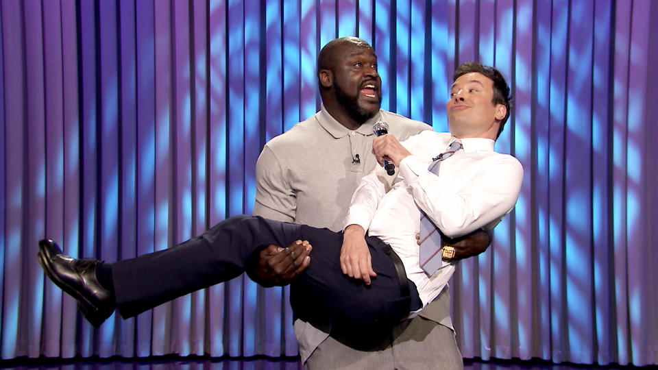 Lip Sync Battle with Shaquille O'Neal and Pitbull