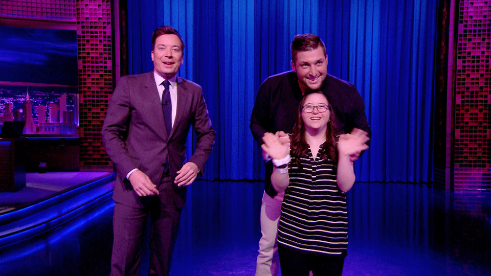 Tim Tebow Surprises Inspirational Fan Judy with Prom Dance