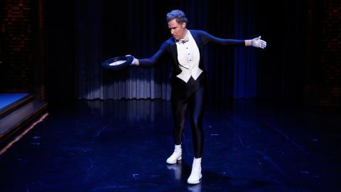 Will Ferrell Figure Skates to the Downton Abbey Theme