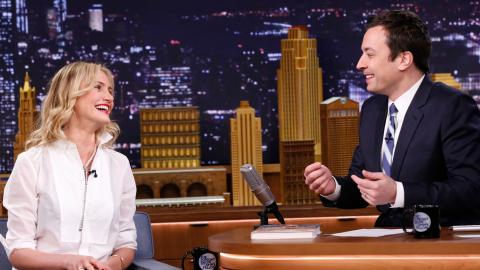 Cameron Diaz Introduced Jimmy to His First Love