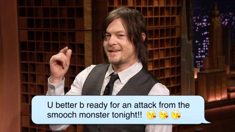 Norman Reedus (Daryl from The Walking Dead) Reads Romantic Text ­Messages