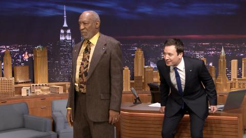 Jimmy Fallon Impersonates Bill Cosby to Bill Cosby