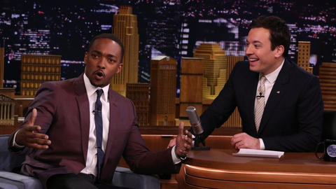 Anthony Mackie Gives James Poyser a Nickname
