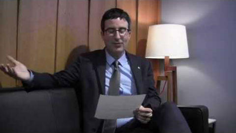 Unqualified Advice: John Oliver