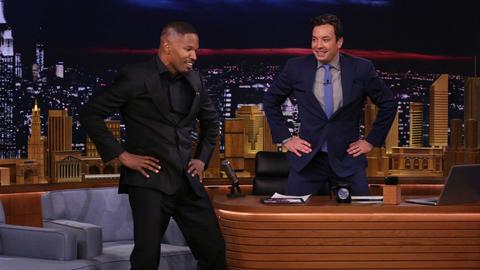 Jamie Foxx Gave a High-Powered Dance Lesson