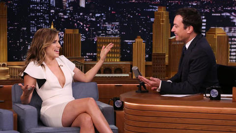 Sophia Bush Debates Jimmy About the Air Hashtag